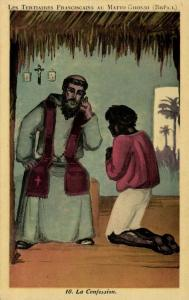 brazil, MATTO GROSSO, The Tertiary Franciscans Mission, The Confession (1930s)