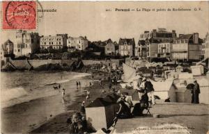 CPA  Coté d'Emeraude - Paramé - La Plage et pointe de Rochebonne  (584685)