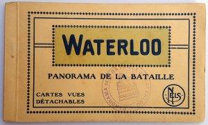 VINTAGE 12 POSTCARDS ALBUM OF WATERLOO. Printer: Nels. UNUSED!!!