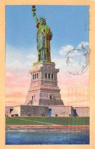 Statue of Liberty Post Card New York City, USA 1986