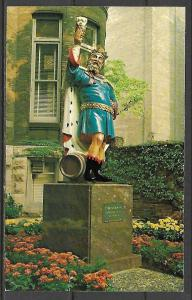 Wisconsin, Milwaukee - King Gambrinus Statue - Pabst Home Brewery - [WI-043]