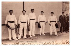 Basque Pelota , Jai Alai , Players