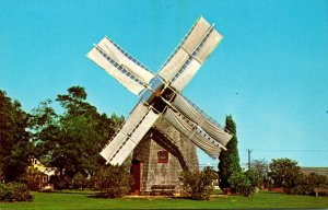 Massachusetts Cape Cod Eastham Old Windmill
