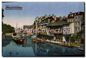 Old Postcard Metz Les Roches
