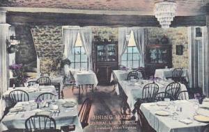 West Virginia Lewisburg Dining Hall General Lewis Hotel