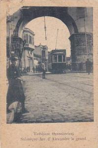 Salonique , Arc d'Alexandre le grand , Greece , 00-10s