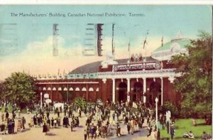 THE MANUFACTURERS BLDG NATIONAL EXHIBITION TORONTO 1928