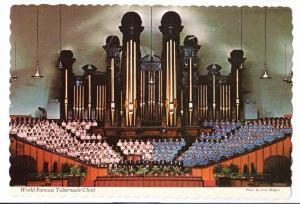 Mormon Tabernacle Choir and Organ Salt Lake City Utah 1976