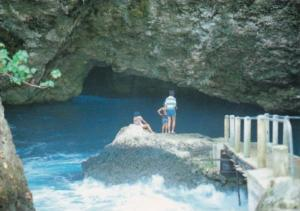Saipan The Grotto Mysterious Sea Eroded Cave