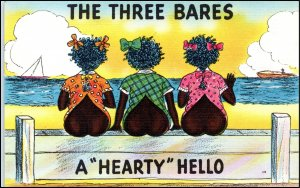 The Three Bares  A Hearty Hello