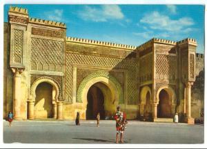 Morocco, Maroc, Meknes, Bab el Mansour, El Mansour Gate, unused Postcard