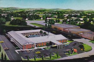 Aerial view,  Ramada Inn,  Lawton,  Oklahoma,  40-60s