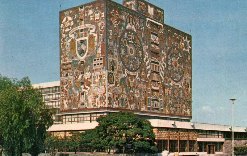 Central Library,University City,Mexico
