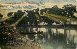 Marshalltown Iowa~Canoeing on the Iowa River~1910~Post Card