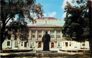 Columbus~Ohio State University~The Statue Of William Oxley Thompson~1957 PC