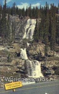 Canada Alberta Tangle Falls