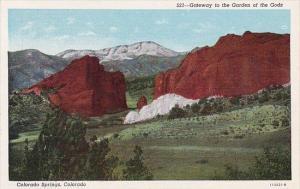 Colorado Springs Gateway To The Garden Of The Gods