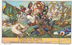 Liebei S1593 Invasion Of The Moors No 3 De slag bij Poitiers Oktober 732