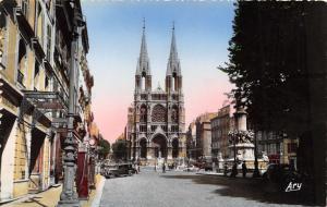 Vintage REAL PHOTO Postcard Marseille, Church St. Vincent de Paul, France #76