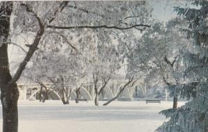 Winter view , SASKATOON , Saskatchewan , Canada , 1950-60s