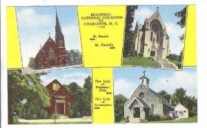 4-Views, Catholic Churches In Charlotte, North Carolina, 1930-1940s