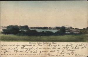 Sandwich Cape Cod MA Shawme Lake c1905 Postcard