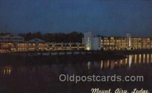 Mount Airy Lodge, Mt. Pocono, Pa., USA Motel Hotel Postcard Postcards  Mount ...