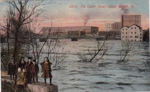 Iowa Cedar Rapids The Cedar River