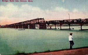 Michigan Detroit Belle Isle Bridge