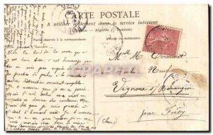 Old Postcard Prefailles Roche Percee