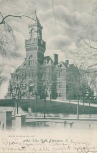 KINGSTON , New York , 1905s ; City Hall