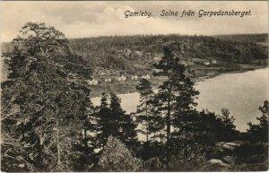 CPA AK GAMLEBY SOLNA - Solna fran Garpedansberget SWEDEN (1140269)