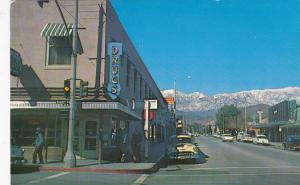 BANNING , California , 50-60s ; San Gorgonio Avenue at Drug Store