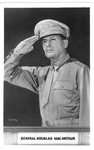Military Post Card Old Vintage Antique Postcard General Douglas MacArthur Unused