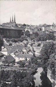 Luxemburg Faubourg du Grund