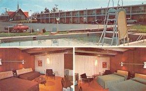 Howard Johnson's Westfield, Massachusetts Postcard