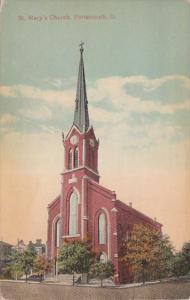 Ohio Portsmouth St Mary's Church 1942