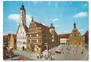 Rothenburg Rathaus City Hall 1970  4X6