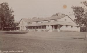 Pachmarchi Barrick Barracks Military Indian Real Photo Old Postcard