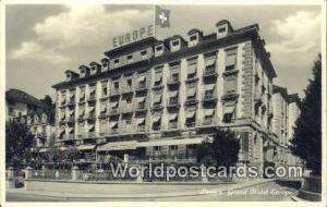 Luzern Swizerland, Schweiz, Svizzera, Suisse Grand Hotel Europe  Grand Hotel ...