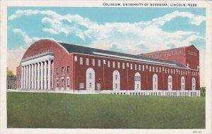 Coliseum University Of Nebraska Lincoln Nebraska