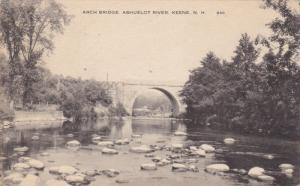 KEENE, New Hampshire, 1900-1910's; Arch Bridge, Ashuelot River