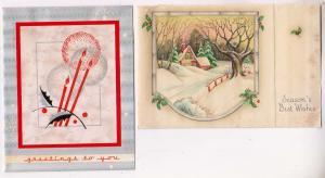 2 - Seasons Greetings Cards