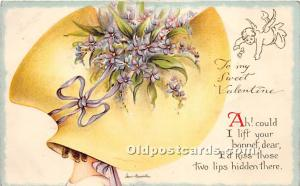 No 2763 Valentines Day Post Card Artist Irene Marcellus