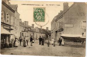 CPA Ligny le RIBAULT - La Rue d'ORLÉANS (271575)