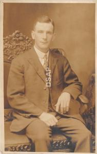 <A19> OHIO Oh Postcard Real Photo RPPC c1910 CANTON Howard Welch