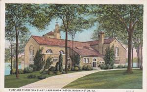 Pump and Filtration Plant, Lake Bloomington, Illinois, 10-20s