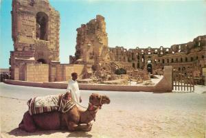 Tunisia El Jem roman amphitheatre