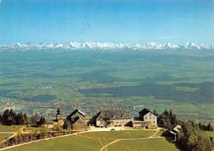 Kurhaus Hotel Weissenstein Blick auf die Alpen Gesamtansicht