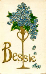 First Name Greeting - Bessie
